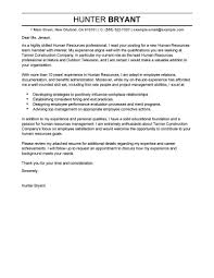 resume and cover letter exles best human resources cover letter sles livecareer