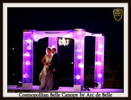 wedding chuppah rental lucite acrylic wedding chuppah canopy rentals by arc de 855