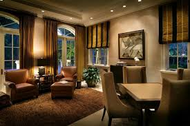 Best Window Treatment For Traditional Family Room Decorating Ideas - Traditional family room