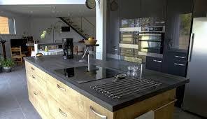 agencement de cuisine cuisine d inspiration bois macoretz agencement