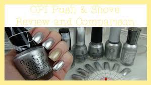 opi push u0026 shove review and comparison chrome mirror polish