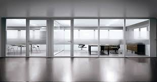 movable wall partitions for practical workspace modern glass