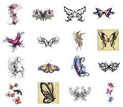 design butterflies tattoos