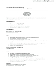 science resume template scientist resume exles career center computer science resume