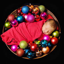 basket of ornaments 10 adorable newborn photo ideas for your
