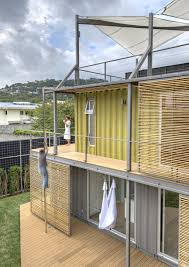 house in costa rica of eight containers