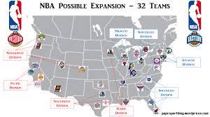 Nfl Usa Map by Nba Nhl U0026 Mls Possible Expansions Papc Sportblog