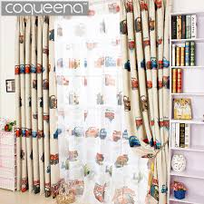 boys bedroom curtains aliexpress buy cartoon car curtains for living room boys boys