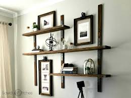 wall shelves strong tie wall mounted shelves sawdust 2 stitches