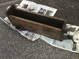 diy rustic wooden centerpiece ruffled
