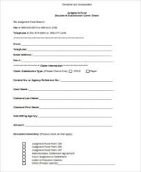 sample fax cover sheet in word 7 examples in word