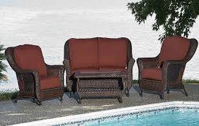 resin wicker patio furniture sets how to paint wicker patio