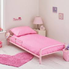 kidsaw starter toddler bed bundle pink