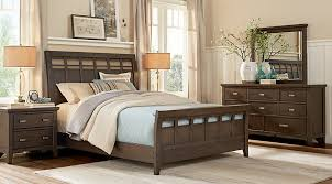 hammond hill brown 7 pc king sleigh bedroom king bedroom sets