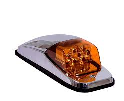 peterbilt 379 cab marker lights amazon com maxxima m27011ycl amber led clear lens chrome upper cab