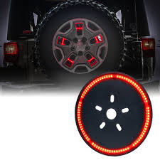 jeep jk 3rd brake light 14 cyclone series spare tire led third brake light for jeep