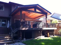 Timber Patio Designs Timber Patio Cover Indy Construction Llc