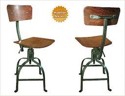 chaise de bureau style industriel design industriel mobilier industriel meuble industriel