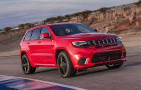 jeep hellcat truck the 2018 jeep grand cherokee trackhawk will give you hellcat power