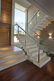 Glass Staircase Design 40 Stair Railings Of Glass U2013 Airy Feel In The Interior Design Of