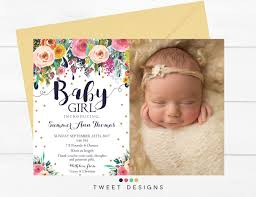 baby announcements baby girl birth announcements ba girl birth announcements mes