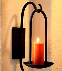 Mexican Wall Sconce Wrought Iron