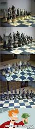 lord of the rings chess set by lod101 meme center