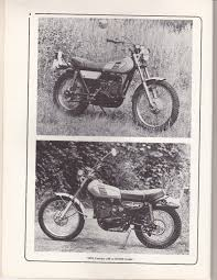yamaha trial bike 250 360 400 used haynes workshop manual 1971 on