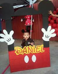 our diy mickey mouse photo booth frame thanks to for