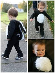 Cupcake Halloween Costume Baby Kid Stuff Diy Halloween Costume U2013 Stinker Skunk