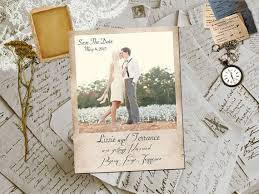 inexpensive save the dates best 25 vintage save the dates ideas on postcard