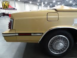 chrysler lebaron 1985 chrysler lebaron for sale photos technical specifications