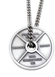 christian necklace philippians 4 13 mens weight plate christian necklace