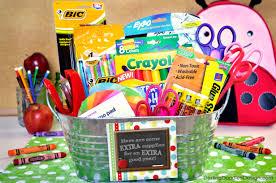 Teacher Gift Basket Teacher Gift Basket With Printable U2013 Craftbnb