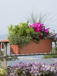 Porch Rail Flower Boxes by Flower Pots Flower Planters Gardeners Com