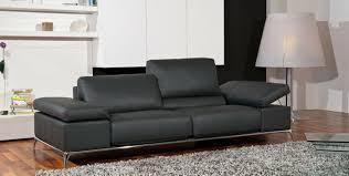 canape en cuir gris le canapé design italien en 80 photos pour relooker le salon