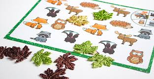 printable animal activities free printable forest animal matching activities
