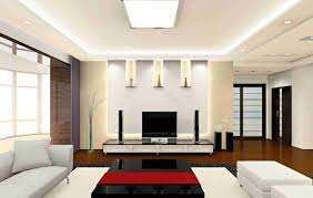 Modern Home Ceiling Designs Beautiful Rounded Track Lighting Decoration Beautiful White