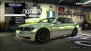 customized bmw 3 series gta 5 fully customized bmw e65 7 series ubermacht oracle xs los