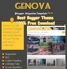 genova news u0026 magazine responsive blogger template free download