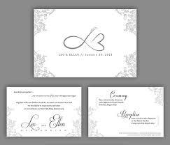 silver wedding anniversary invitations templates gift ideas