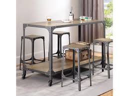 coaster kitchen carts rustic kitchen island and stools adcock coaster kitchen carts rustic kitchen island and stools adcock furniture kitchen islands