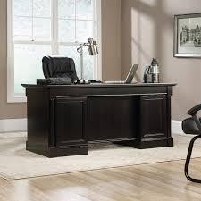 Sauder August Hill Computer Desk Sauder 416513 Avenue Eight Wind Oak Executive Desk Ebay