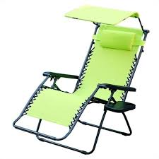 jeco oversized zero gravity chair with sunshade in lime green gc6