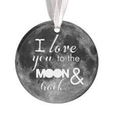 moon ornaments keepsake ornaments zazzle