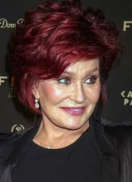 sharon osbournes haircolor shades of red hair color ideas from hollywood sophisticated