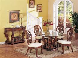 traditional round glass dining table the best traditional round glass dining table photos liltigertoo