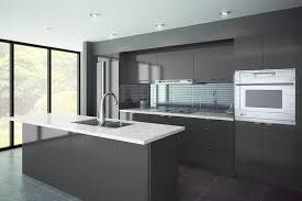 Kitchen Cabinets Pre Assembled European Style Flat Panel Pre Assembled Best Online Cabinets