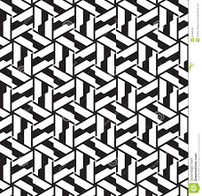 seamless geometric pattern in op art design stock photos image