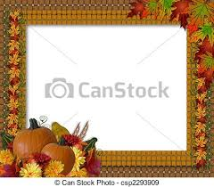 free clipart thanksgiving borders collection